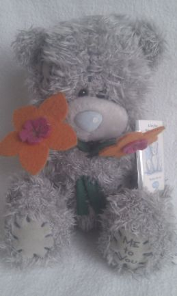 Adorable 'Flowers' Me to You Plush Bear
